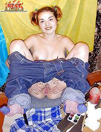 Naked teen artist